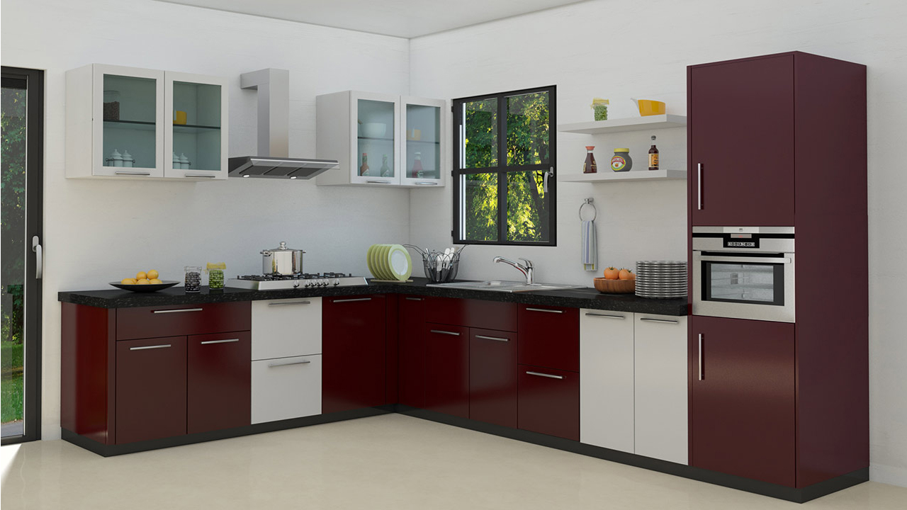 Modular kitchen installation become easy with these tips I shaped kitchen