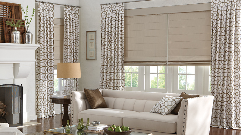 Install Custom Roman Shades Easily Modern Window Treatments