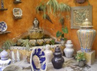 Ornamental Talavera Pottery