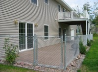 residential Chain link fencing