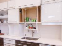 cabinet dish rack image