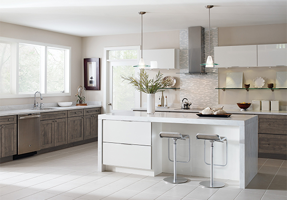 replacing kitchen cabinets with new ones