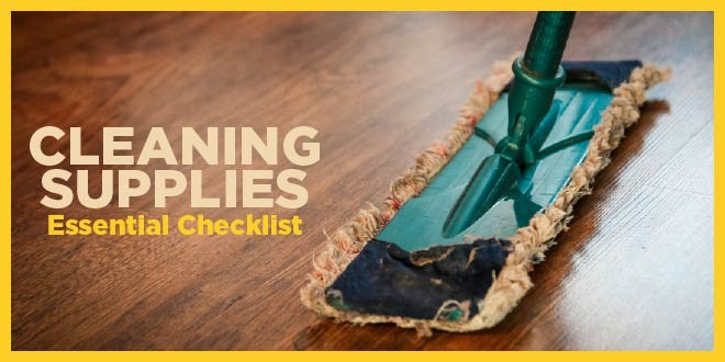 6 Cleaning Supplies you should Consider
