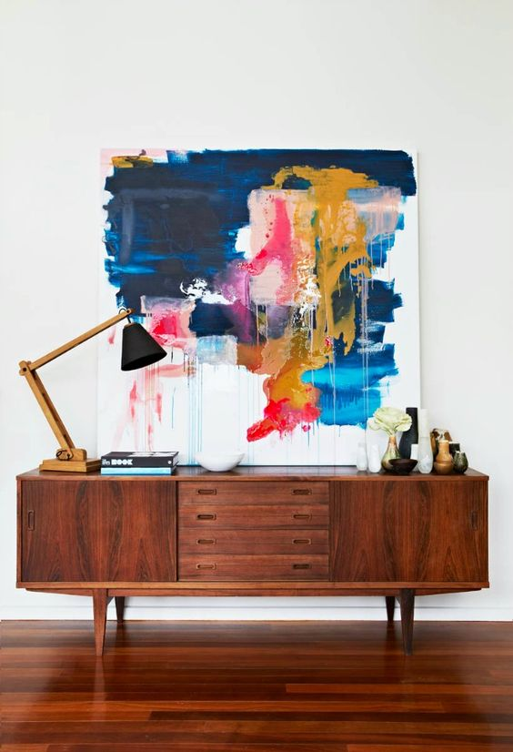 9 Oil Paintings Ideas for Console Table