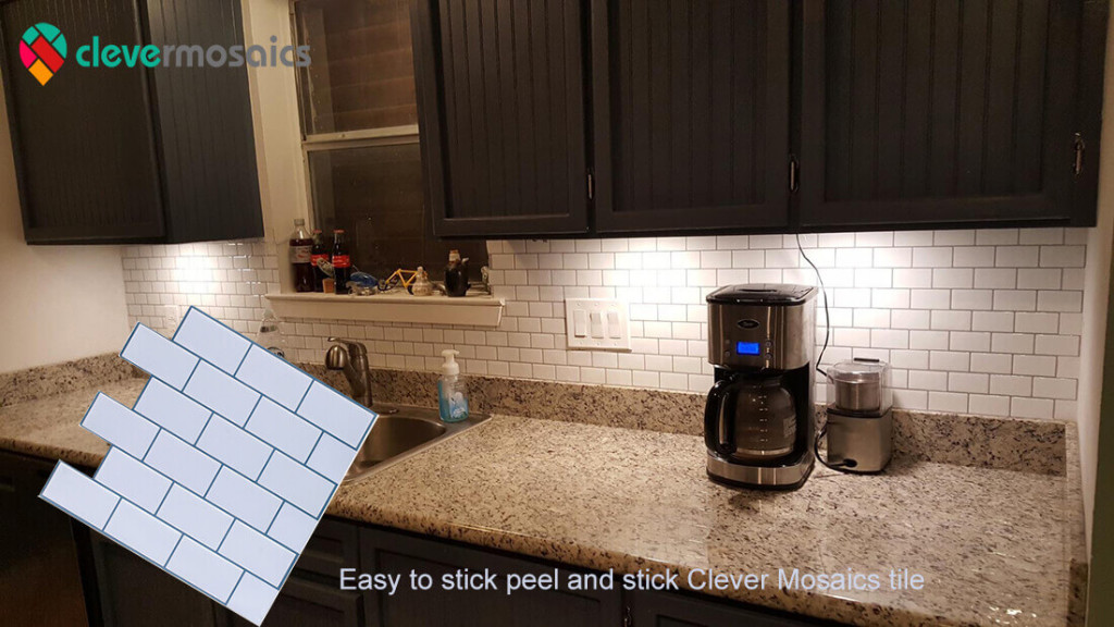 Use Stick & Peel Mosaic Tiles to Refresh your Home Interior